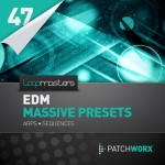 Пресеты Loopmasters EDM Massive Presets Arps and Sequences