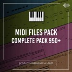 MIDI файлы - Production Music Live MIDI Complete Pack