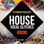 Сэмплы HY2ROGEN House Vocal Glitches 8