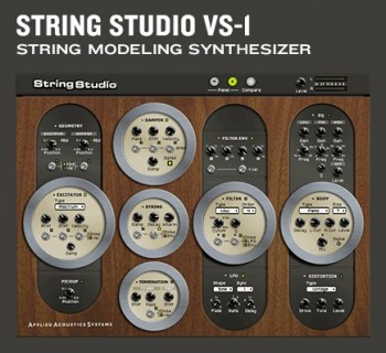 Applied Acoustics String Studio VS-1 VSTi DXi RTAS v1.1.3