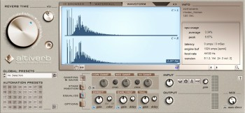 AudioEase Altiverb VST RTAS v6.12