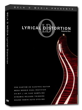 Библиотека сэмплов Bela D Media Lyrical Distortion Vol. 1 (KONTAKT)