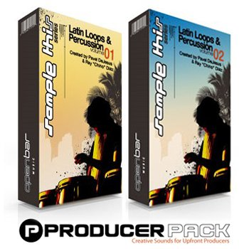 Сэмплы перкуссии ProducerPack Latin Loops and Percussion Vol. 1 & Vol. 2