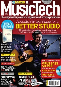 Журнал Music Tech Magazine (March 2011)