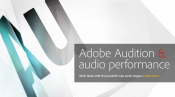 Adobe анонсировала Adobe Audition CS5.5 для Mac и PC платформ