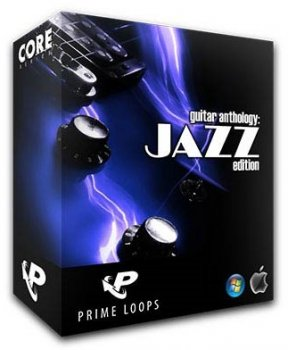 Сэмплы гитары Prime Loops Guitar Anthology: Jazz Edition