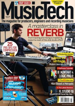 Журнал Music Tech Magazine (May 2011)