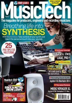 Журнал Music Tech Magazine April 2011