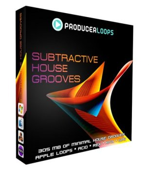 Сэмплы Producer Loops Subtractive House Grooves