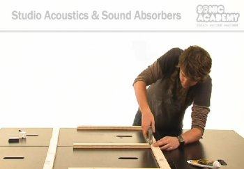 Видео уроки Sonic Academy Studio Acoustics and Sound Absorbers