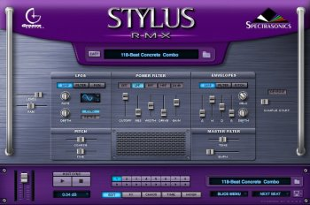Spectrasonics Stylus RMX v1.9.6e Update Only Win/OSX