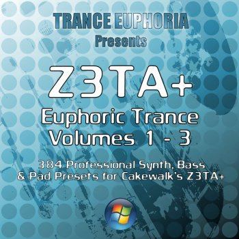 Пресеты Euphoric Trance for Z3TA+ Bundle (Vols 1-3)