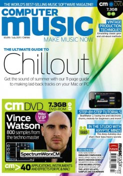 Журнал Computer Music Magazine (July 2011)