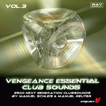 Сэмплы Vengeance Essential Clubsounds Vol. 3 (Trance, House, Electro)