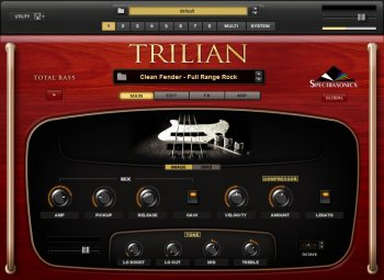 Обновление Spectrasonics Trilian v1.4.1d Update Only WIN/OSX