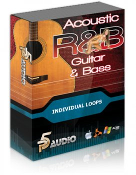 Сэмплы гитары и баса P5audio Acoustic RnB Guitar And Bass Loops