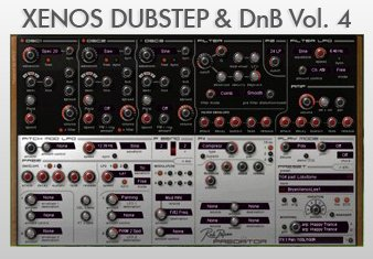 Пресеты Xenos Dubstep and DnB Vol. 4 для Rob Papen Predator