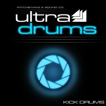 Сэмплы ударных Patch Banks & Sound Co Ultra Drums Kick Drums