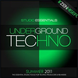 Сэмплы Zenhiser Studio Essentials Underground Techno