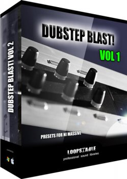 Пресеты Loopstable Dubstep Blast Vol1 для NI Massive