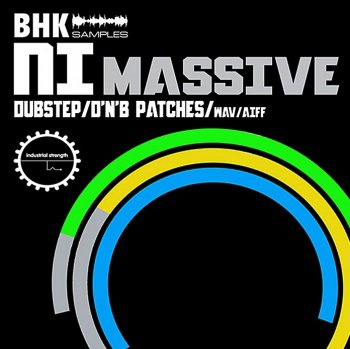 Industrial Strength Records BHK NI Massive (Dubstep, DnB) (Пресеты/WAV/Aiff)