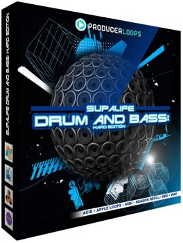 Сэмплы Producer Loops Supalife Drum and Bass Hard Edition (DnB) (MULTiFORMAT)