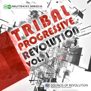 Сэмплы Mutekki Media Tribal Progressive Revolution Vol 1