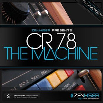 Сэмплы ударных Zenhiser CR78 The Drum Machine (WAV)