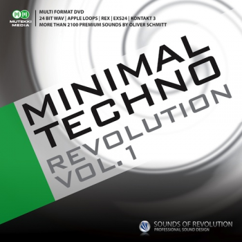 Сэмплы Sounds Of Revolution Minimal Techno Revolution Vol. 1 (MULTiFORMAT)