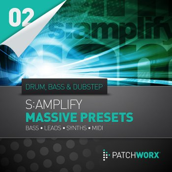 Пресеты Loopmasters S:amplify Drum n Bass & Dubstep NI Massive Presets