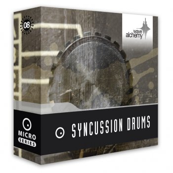 Сэмплы перкуссии Wave Alchemy Syncussion Drums (MULTiFORMAT)