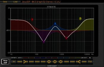 linuxDSP GRAPH-EQ VST v1.0.0