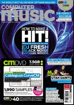 Журнал Computer Music Magazine (October 2011)