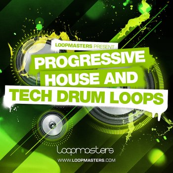Сэмплы Loopmasters Progressive House and Tech Drum Loops (WAV/REX)