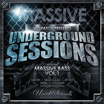 Пресеты Uneek Sounds Underground Bass for Massive Vol 1