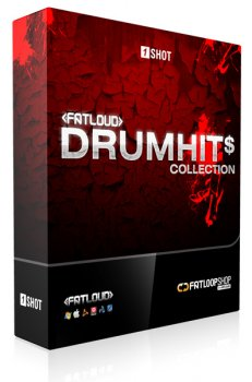 Сэмплы ударных FatLoud Drum Hits Collection (WAV)