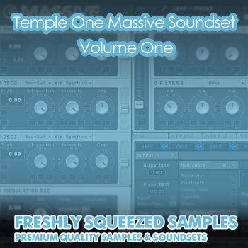Пресеты Freshly Squeezed Samples Temple One Massive Soundset Volume One