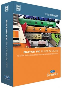 Focusrite Guitar FX Suite VST v1.2.1