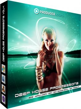 Сэмплы Producer Loops Deep House Progressions Vol 4 (WAV/REX/MIDI)