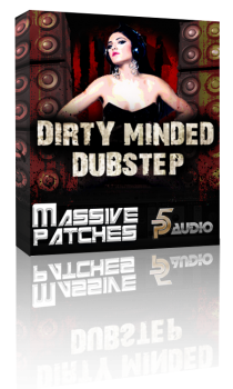 Пресеты P5 Audio Dirty Minded Dubstep Patches для NI Massive