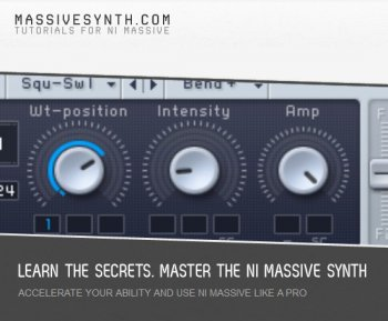 Видео уроки MassiveSynth NI Massive Video Course
