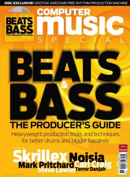 Журнал Computer Music Special 50 - Beats & Bass: The Producer's Guide (+CD)