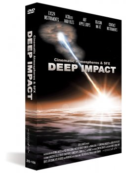 Библиотека сэмплов Zero-G Deep Impact: Cinematic Atmospheres & SFX