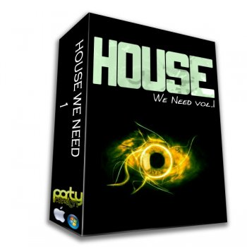Party Design House We Need Vol 1 (WAV/MIDI)