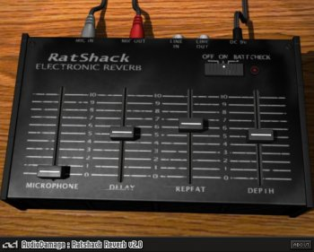 Audio Damage RatSchack Reverb v2.1.0