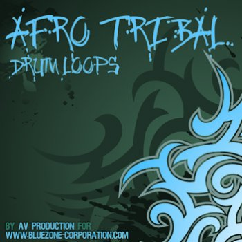 Сэмплы перкуссии Bluezone Corporation  Afro Tribal Drum Loops (WAV/AIFF)