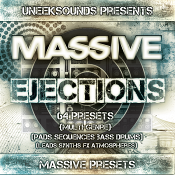 Пресеты Uneek Sounds Massive Ejections For N.I Massive