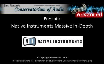 Видео уроки Conservatorium Of Audio - Native Instruments Massive In-Depth