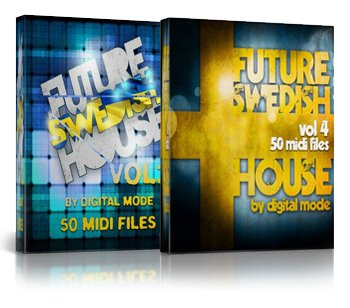 Shockwave Future Swedish House Vol 3 & Vol 4 (MIDI файлы)