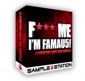 Сэмплы Sample Station Fuck Me I'm Famau5 (House)